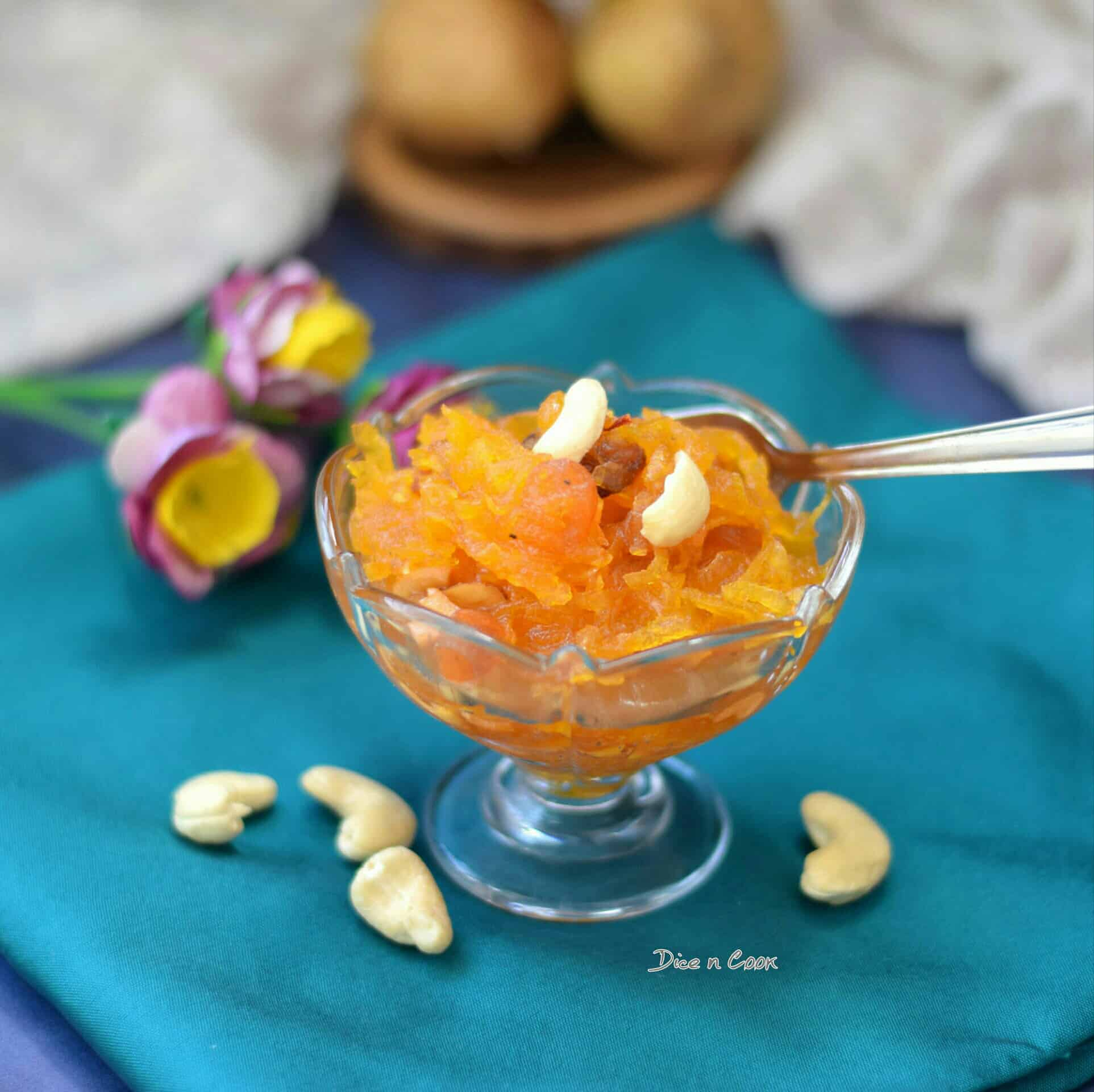 Grated-potato-halwa-cup