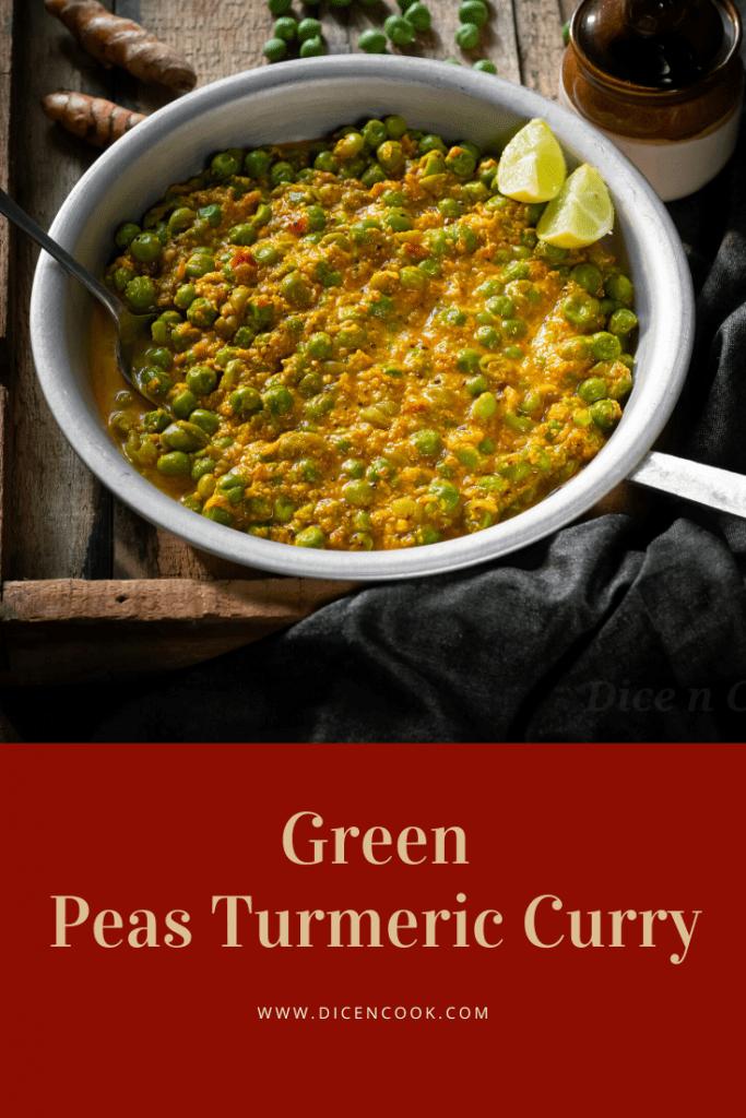 Green-peas-turmeric-curry
