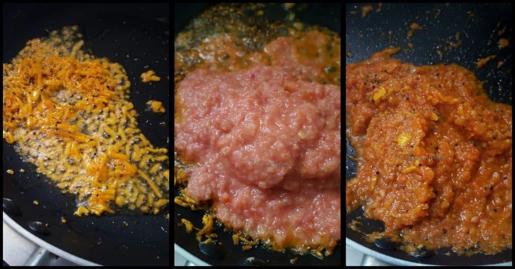Green peas turmeric curry