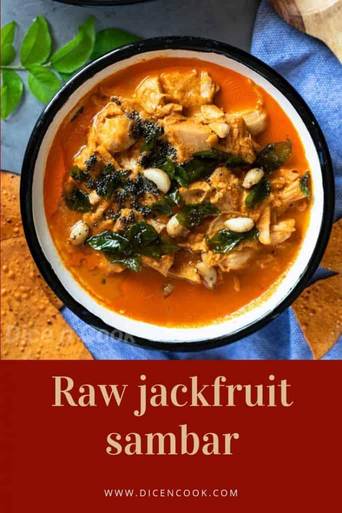 Raw-jackfruit-sambar