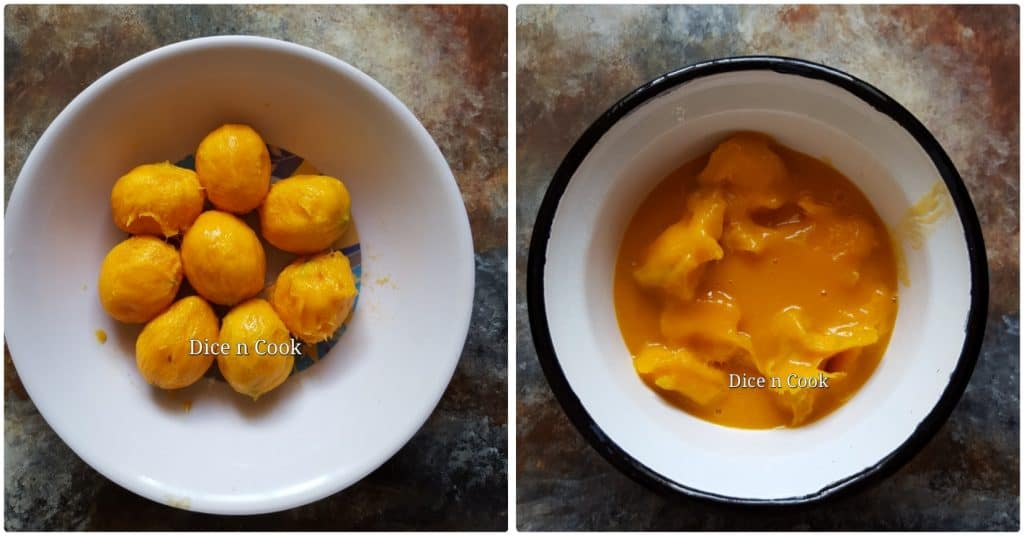 Sugar-baby-mangoes-in-coconut-mustard-gravy
