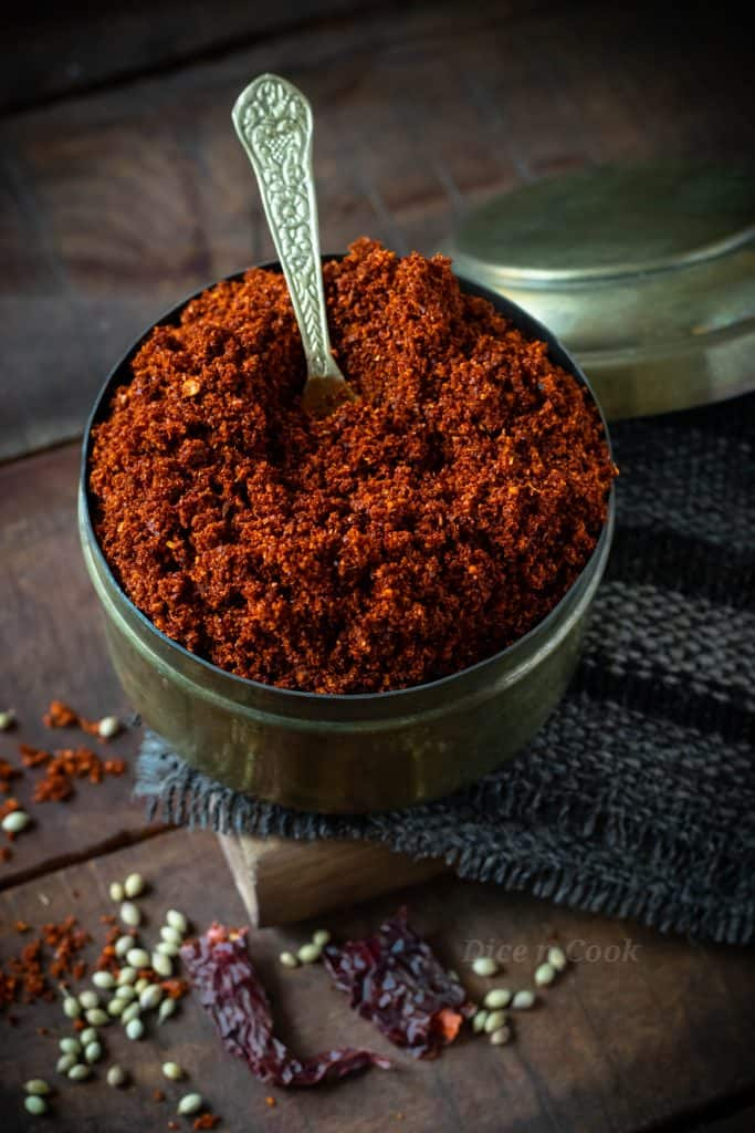 Step by step photos and short video recipe of Udupi style Homemade rasam powder. If you are looking for a vegan homemade condiment with basic Indian spices, then here its is. Quick and easy spice blend to make rasam #rasam #homemade #southIndian #condiments #spices