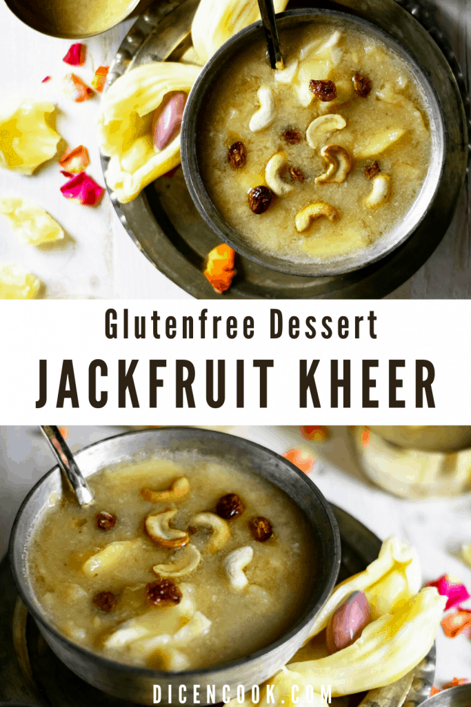Jackfruit moong dal payasam is a glutenfree dessert from karnataka prepared using ripe jackfruit pieces, split dehusked moong bean. Sweetened with jaggery. #dessert #Karnataka #payasa #glutenfree