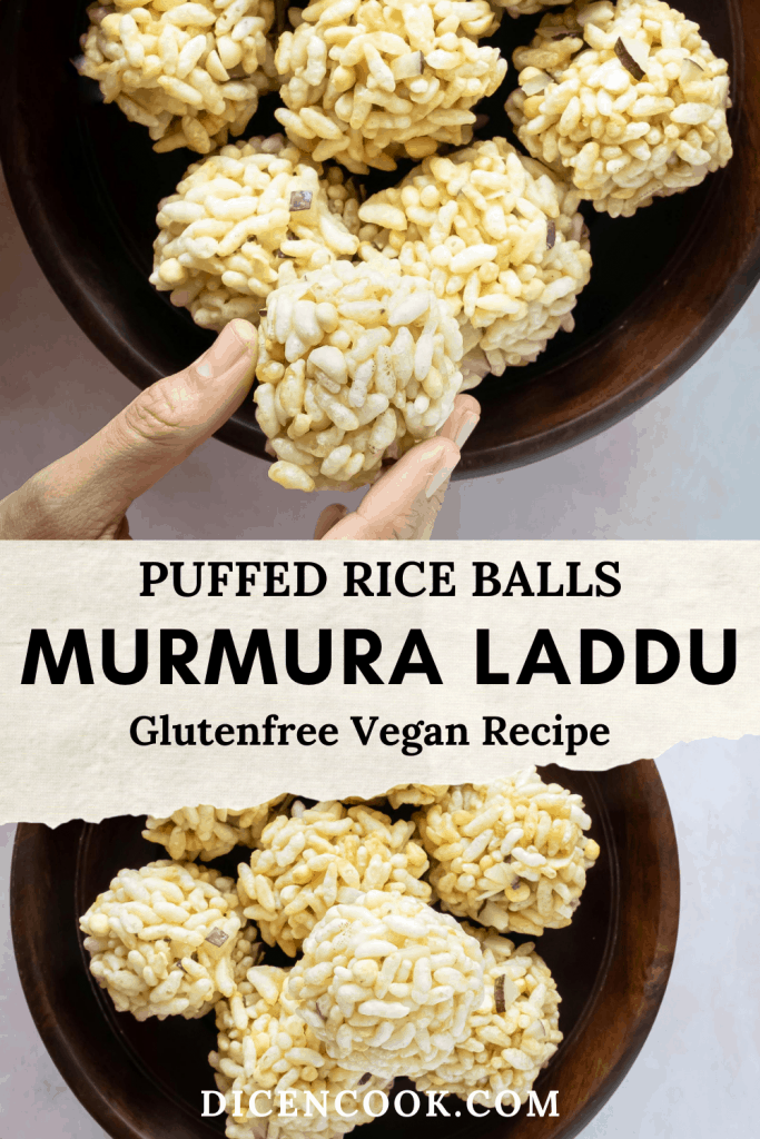 Puri unde or murmura laddu or pori urundai step by step recipe. Simple easy Indian puffed rice sweet balls. Crispy, delicious laddu recipe prepared for ashtami festival.  #murmura #festival #laddu #sweet #Karnataka
