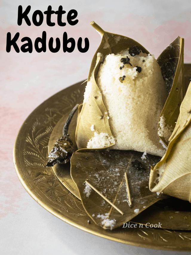 Kotte Kadubu