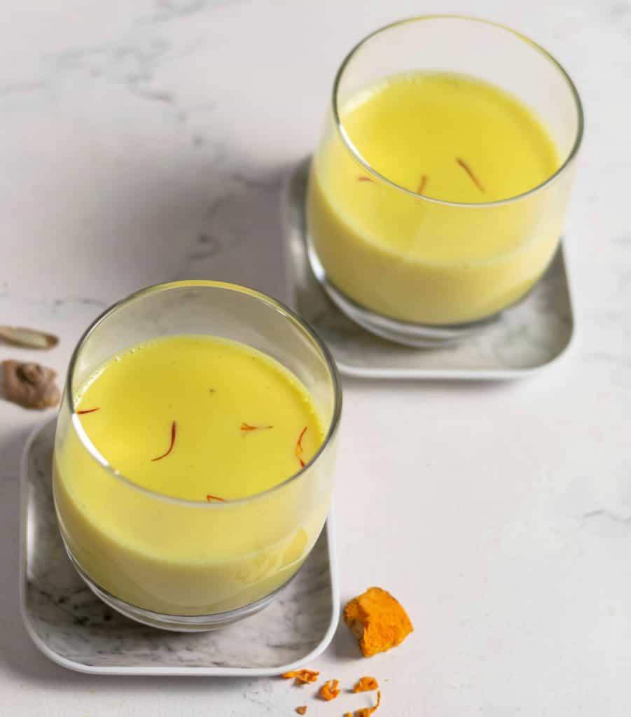 turmeric saffron milk