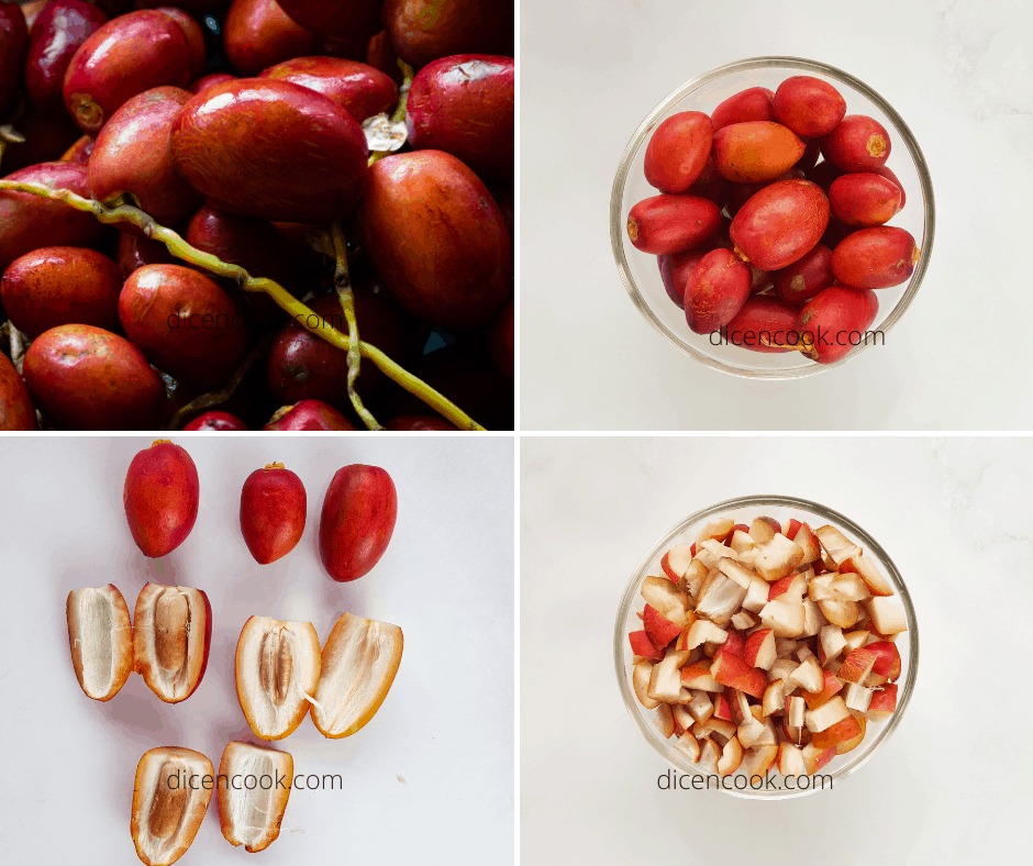 Fresh Red Dates Pickle