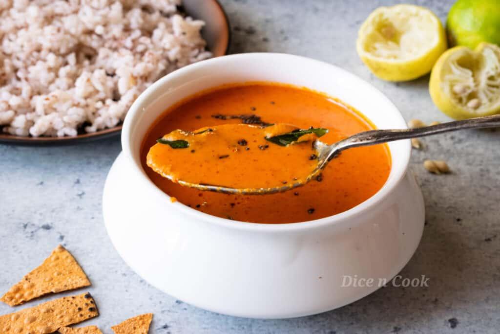 Lemon coconut curry