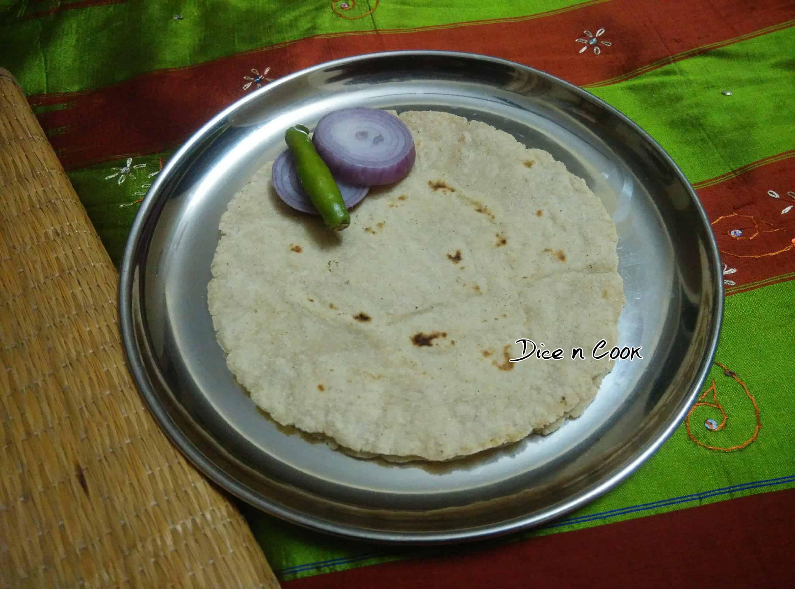 Jolada roti/ jowar bhakri
