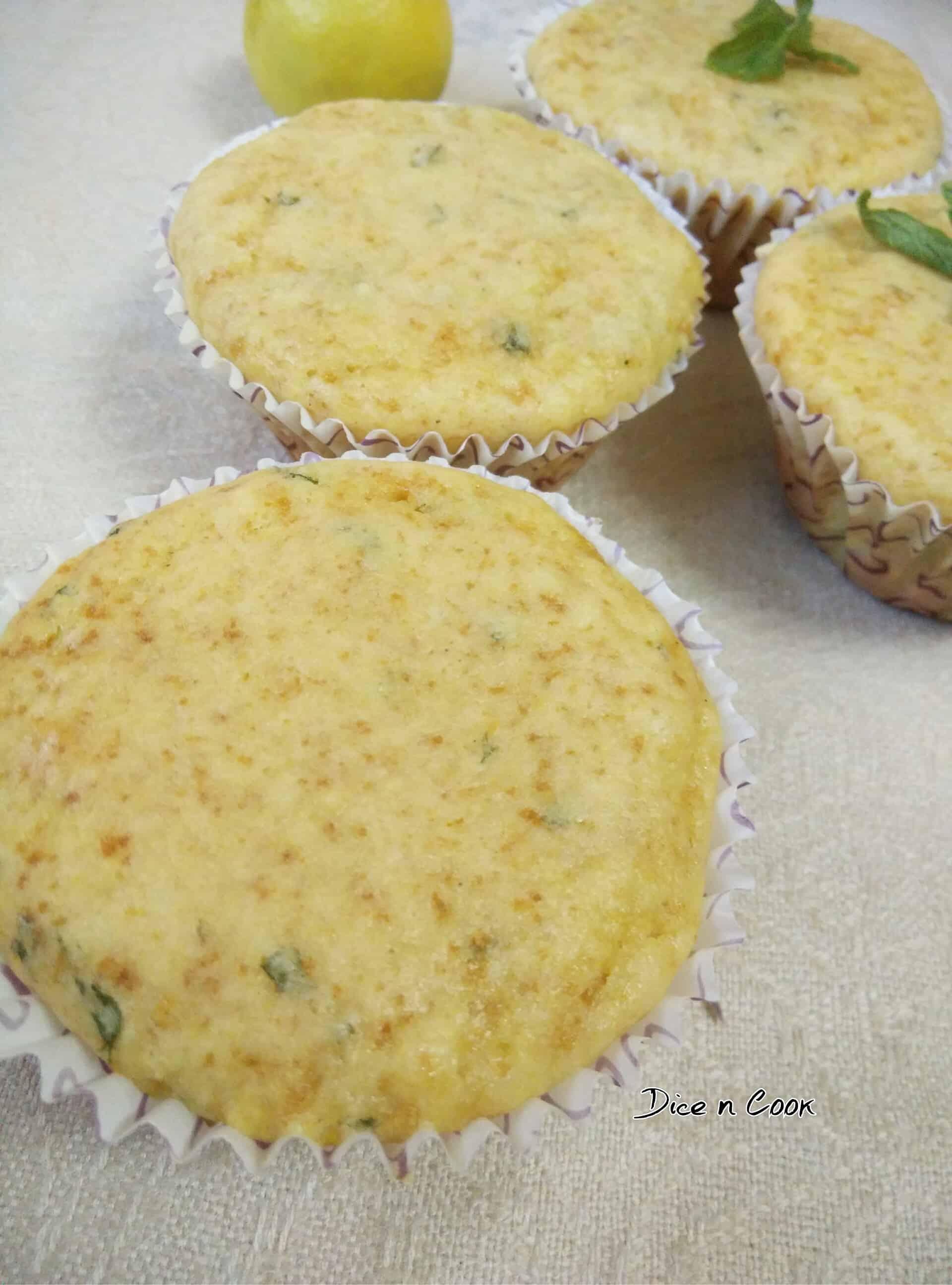 Sweet Masala Lassi cupcakes