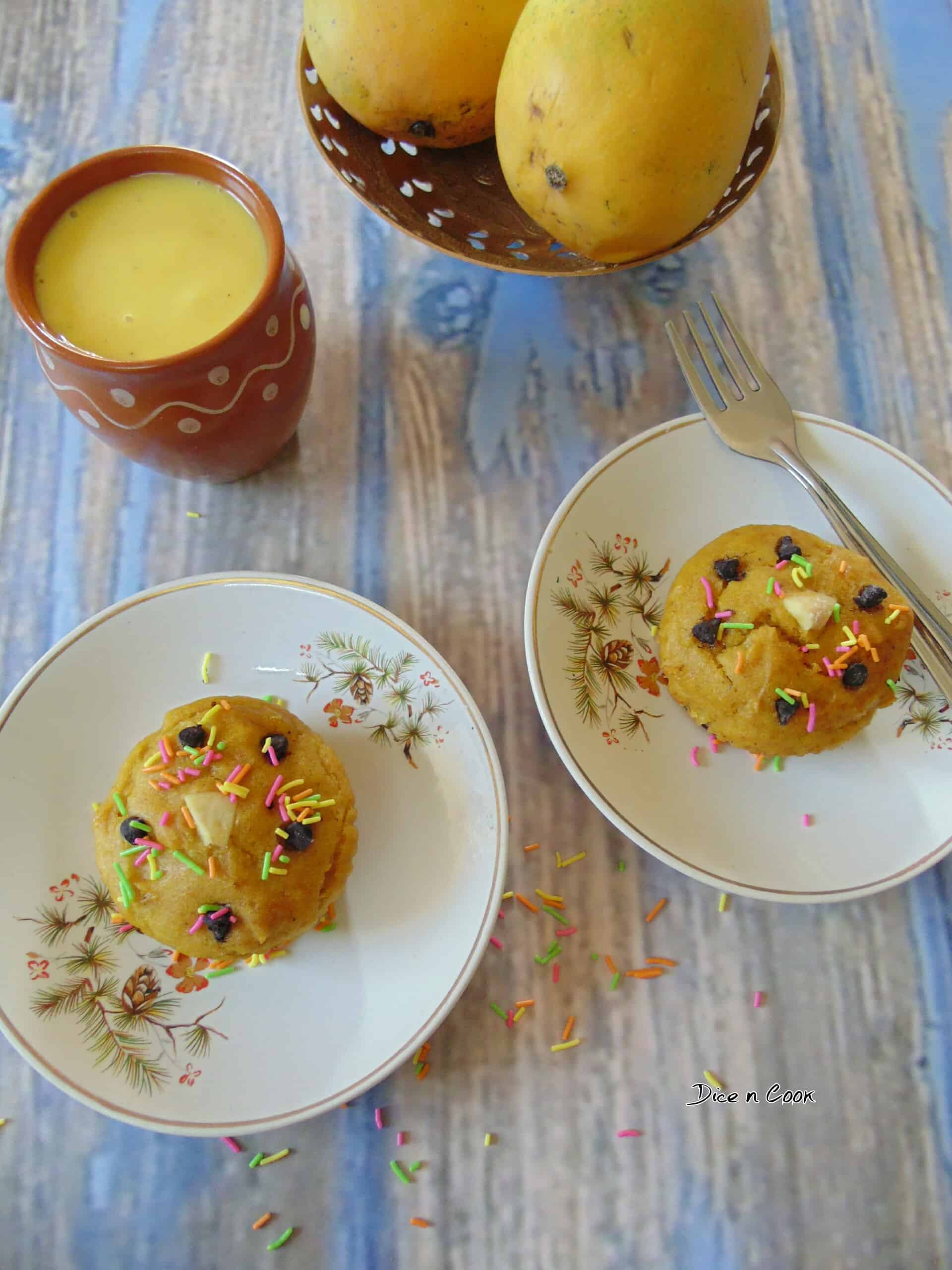 Mango Rasayana Cupcakes