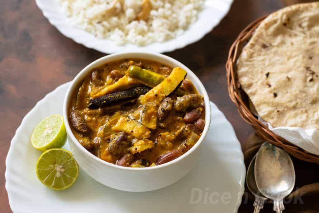 Rajma madra or Red kidney bean gravy – Learn to make authentic Pahari madra