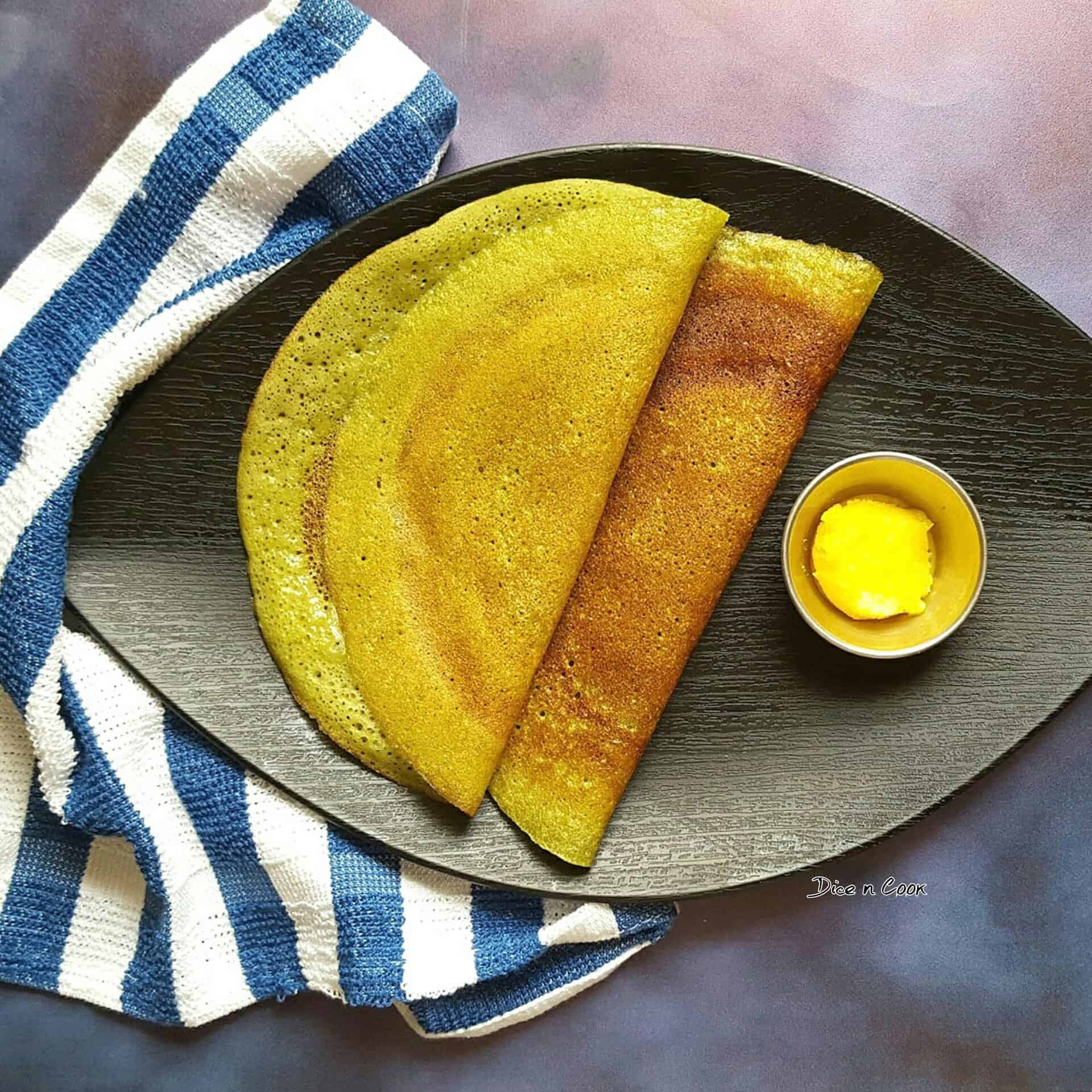 Dill Leaves Sweet Dosa