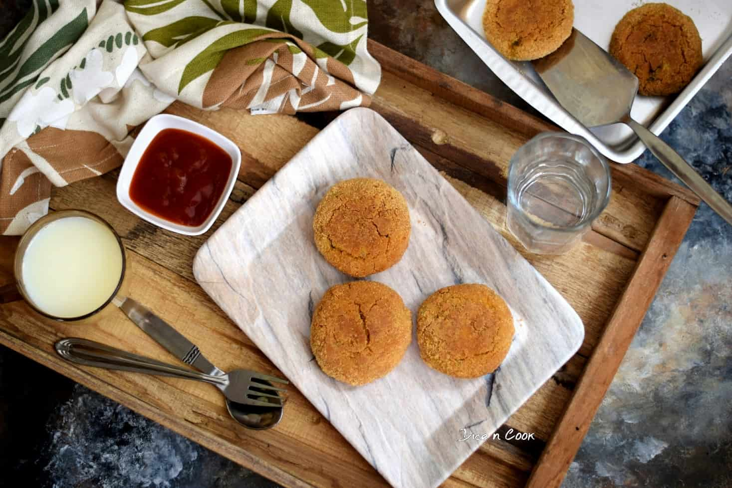 Baked-Stuffed-Sweet-Potato-Patties-(Dhansak flavored)