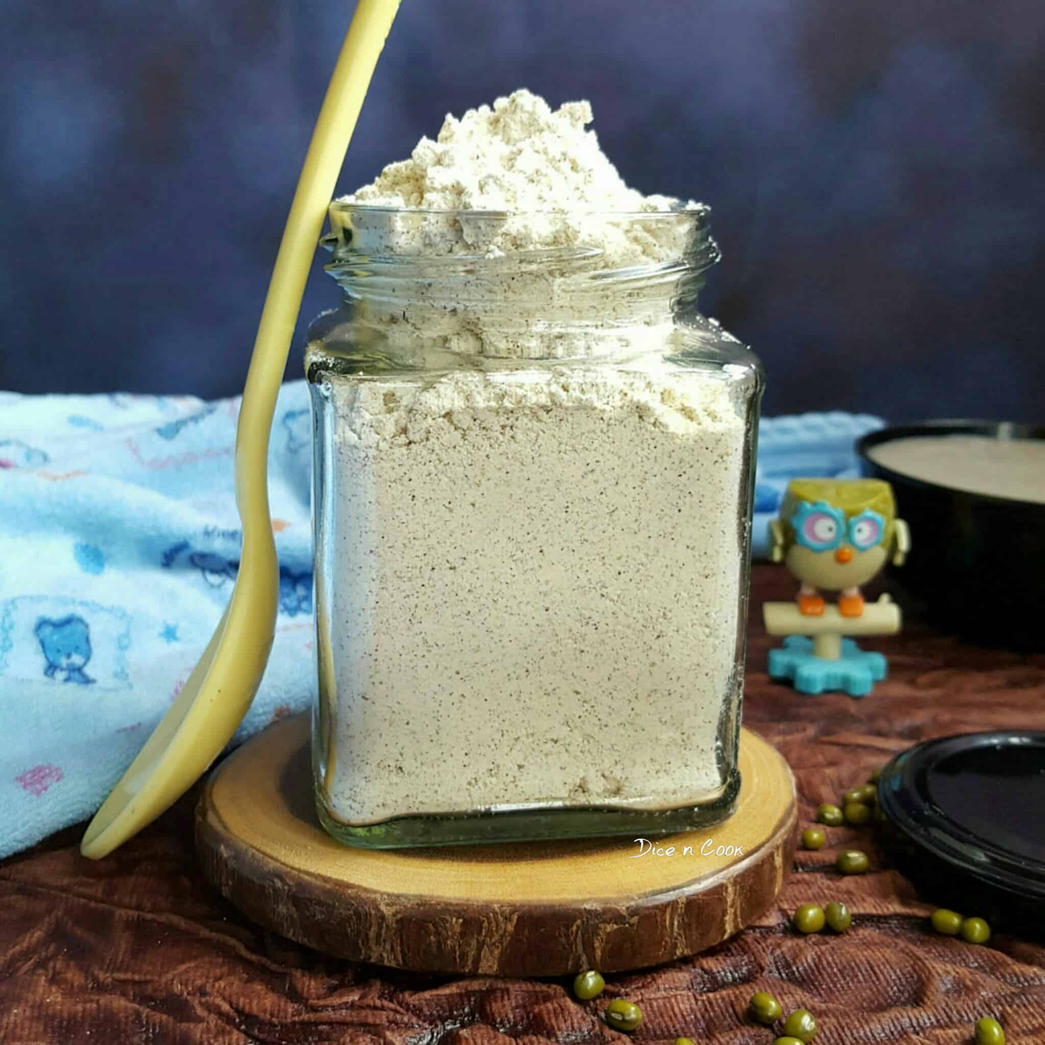 homemade- porridge- powder