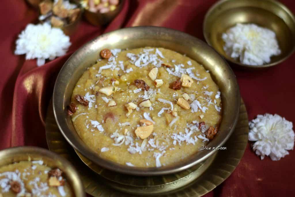 Rava Gasagase Pongal or Semolina Poppy Seeds Pongal