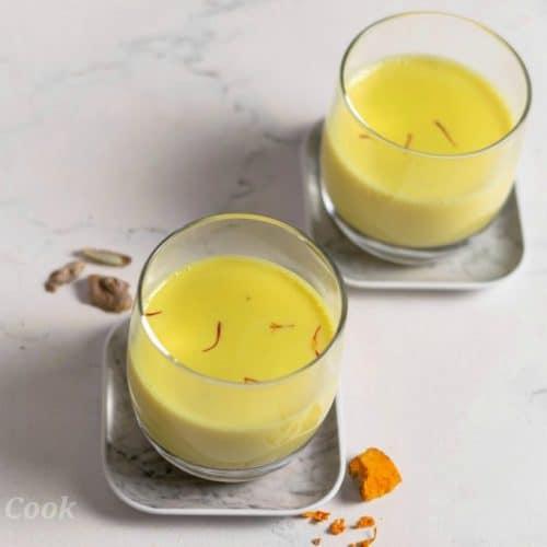 Turmeric-saffron-milk