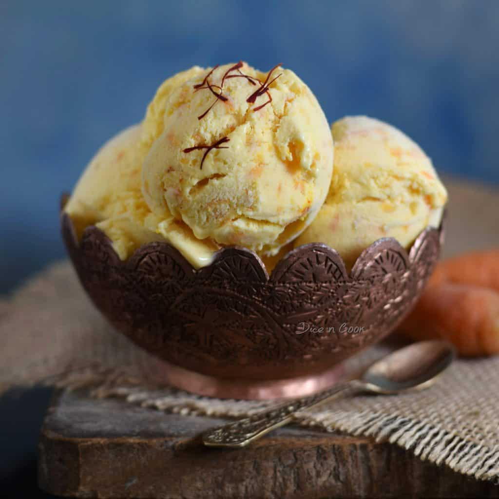 carrot-ice cream-