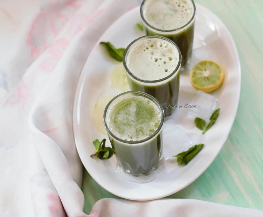 Cucumber-mint-drink