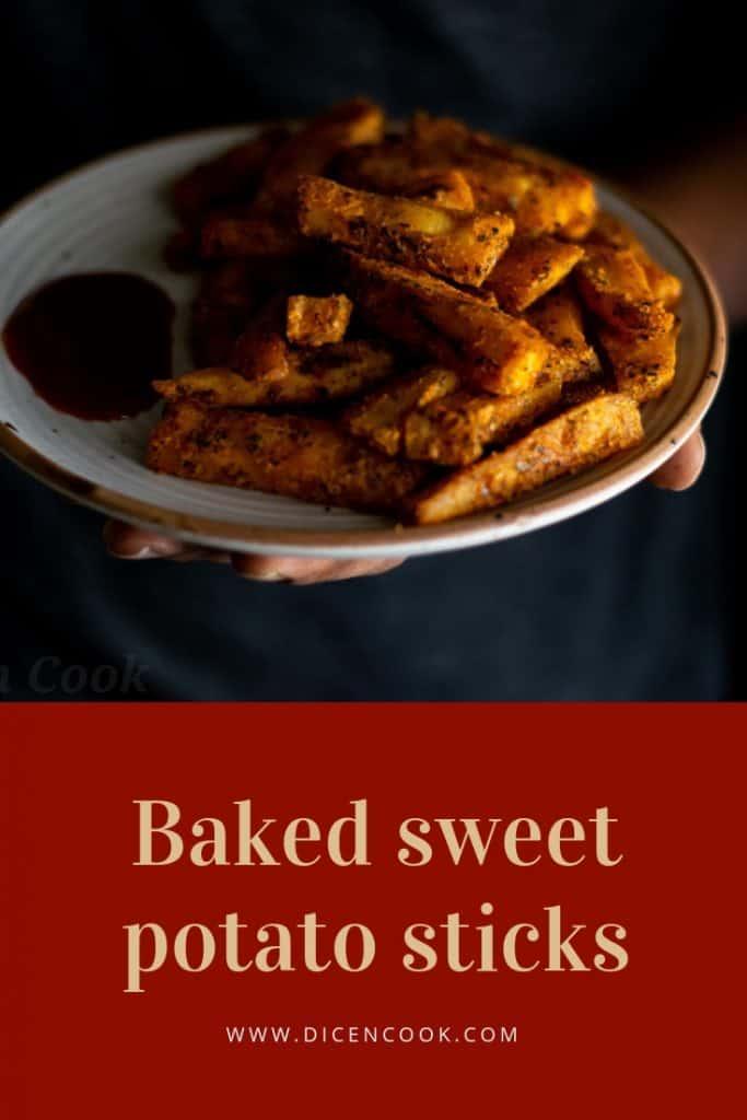 Baked-sweet- potato-sticks