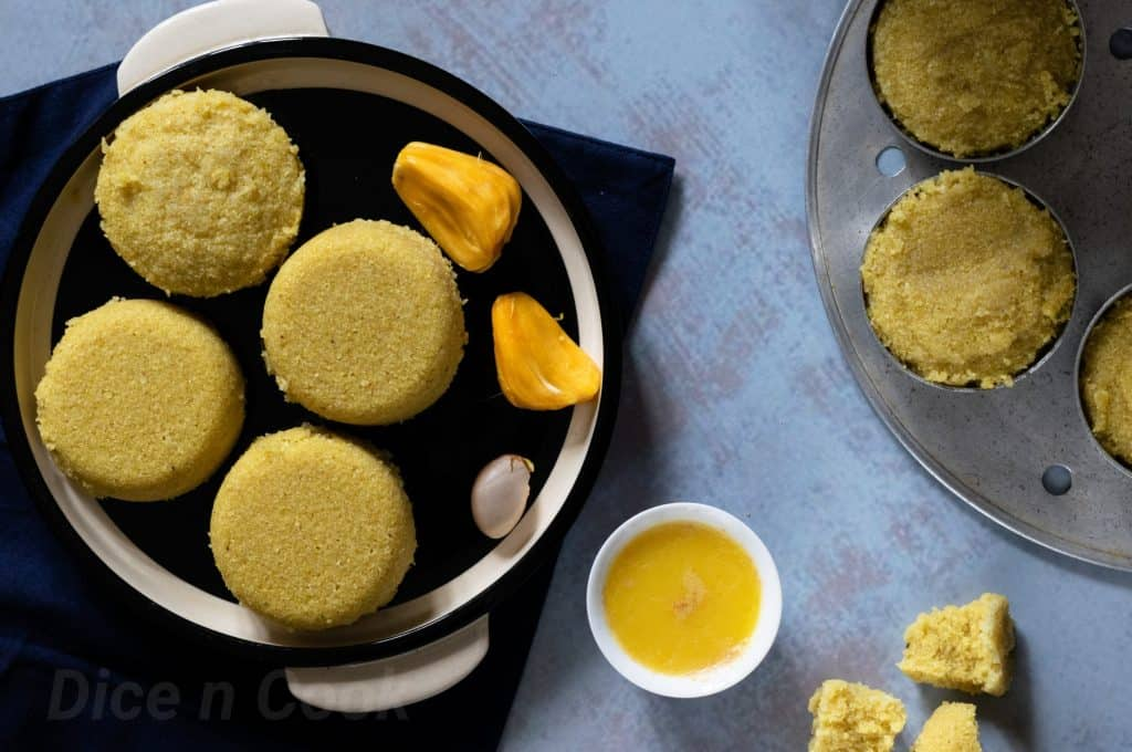 Learn to make authentic Jackfruit Idli (Video Recipe)