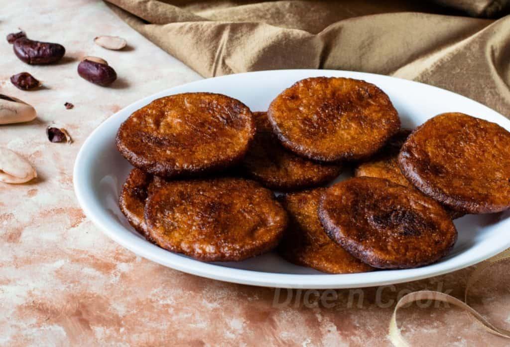 Karnataka style jackfruit seed athirasa